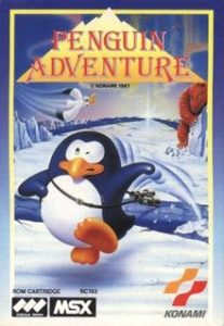 Book Cover Penguin Running on Ice titled Penguin Adventure