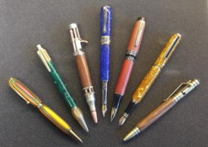 Handcrafted Wooden and Metal Pens