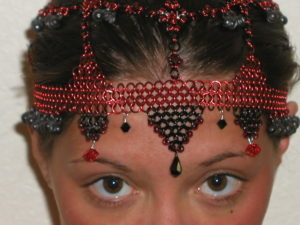 Chainmail head piece