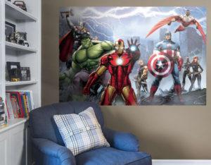 Marvel Avengers Wall Mural