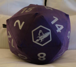 purple die